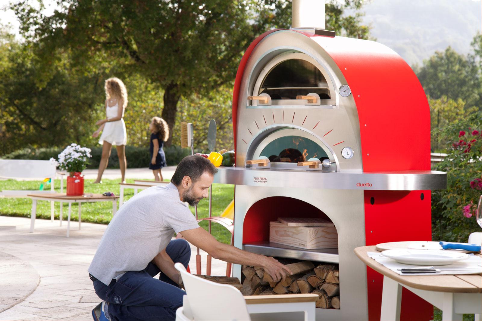 Actualit s esprit du feu votre po lerie arlon for Achat four pizza exterieur